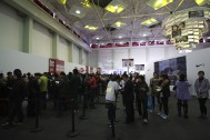 Over 20k runners experienced the NIKE Expo space.