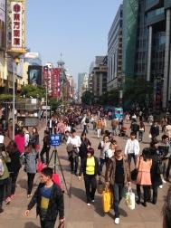 Shopping on Nanjing Rd