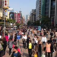 Shopping on Nanjing Rd